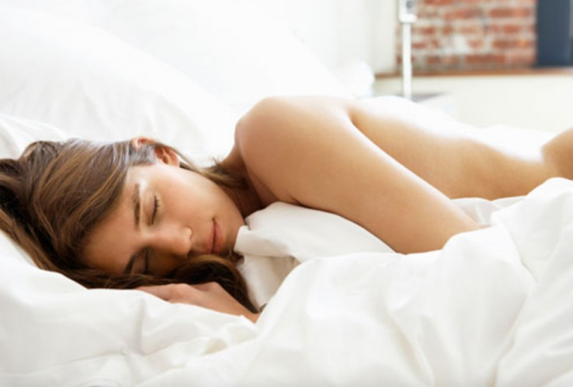 Pictures of sleeping naked