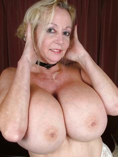 Older women with beautiful breasts