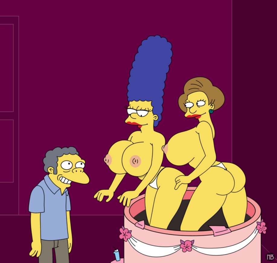Lesbian fucking in simpsons porn simpsons