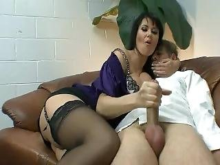 Yummy carmen ross pants ripped then gets roughly fucked XXX