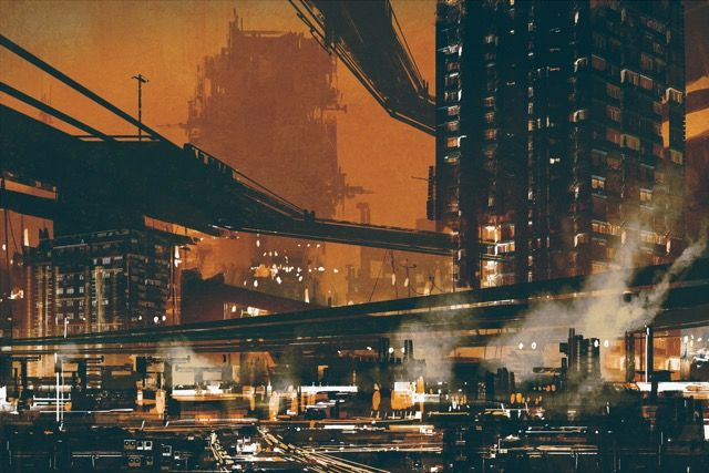 Draw on pinterest blade runner deviantart and cyberpunk