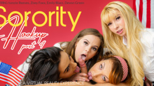 Vr porn orgy reviews the spring break foursome