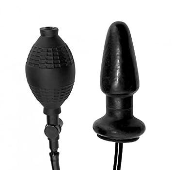 Anal inflatable butt plug