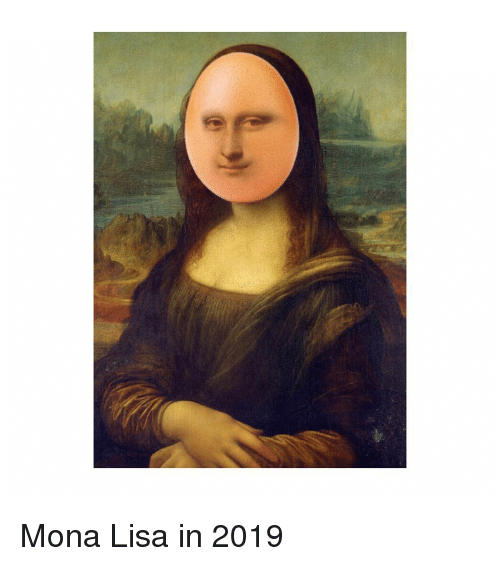 Mona lisa takes it up the ass