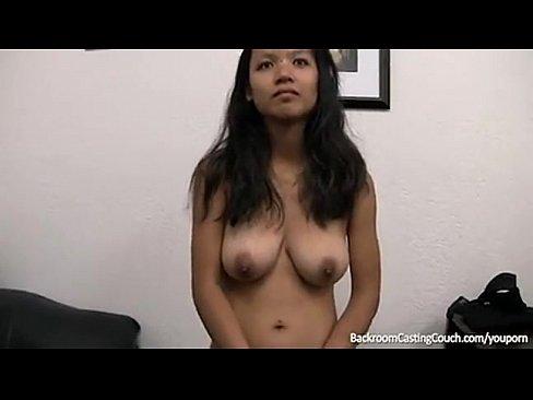 Asian anal backroom casting