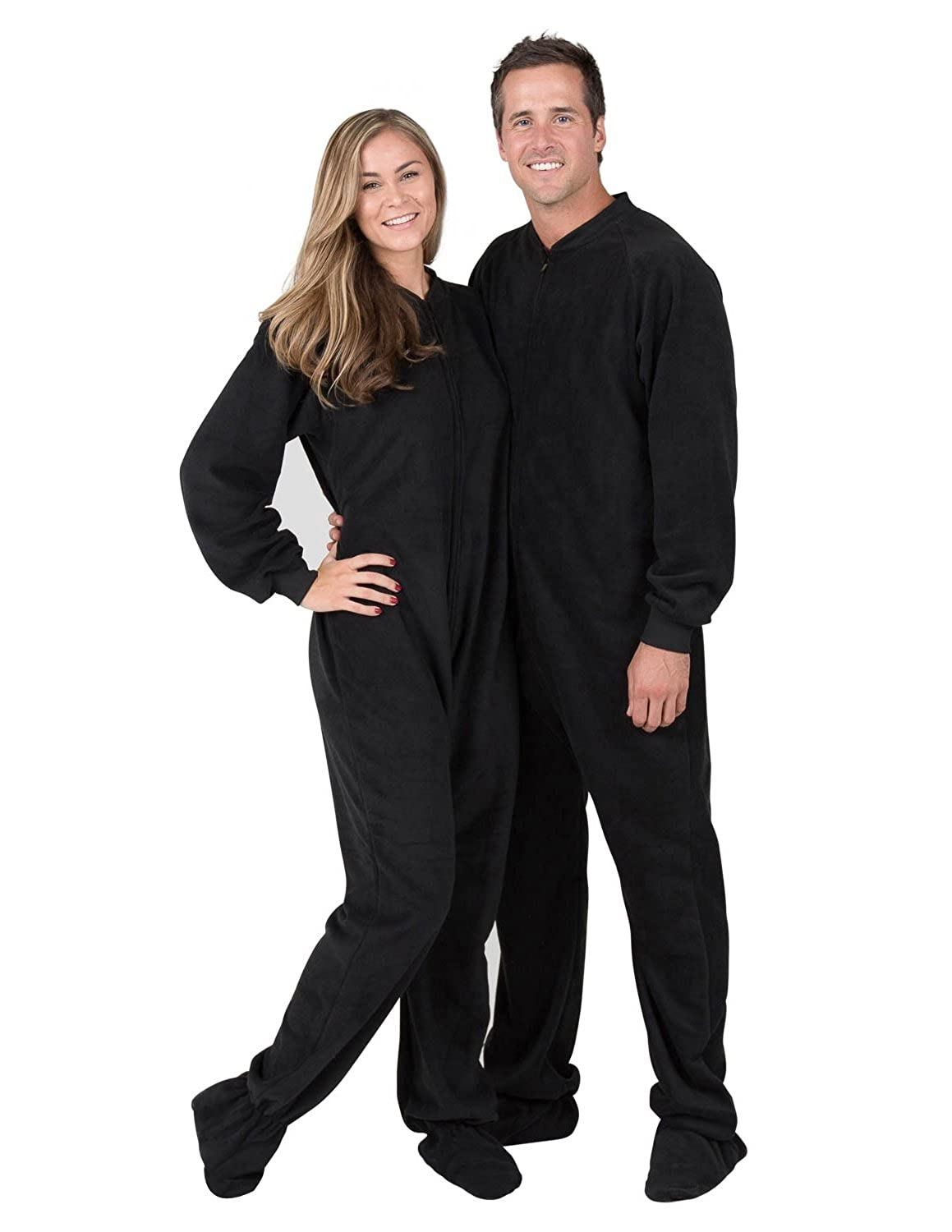 Adult size feety pajamas the videos