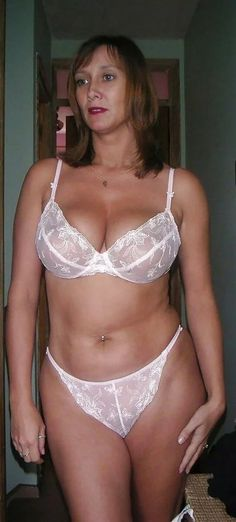 Busty see through lingerie