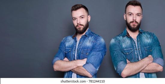 Adult twins male