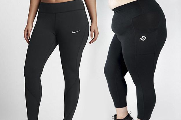 Chubby girls in leggings