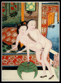 First chinese nude art model