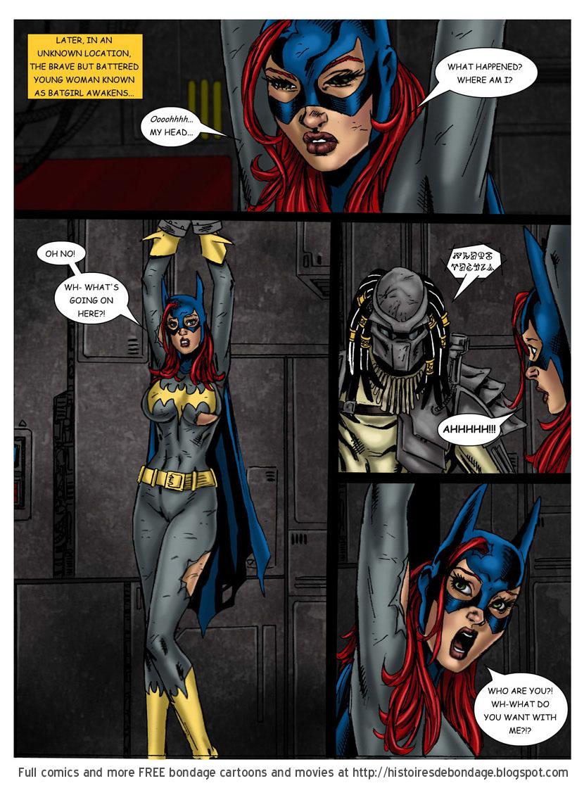 Superhero bondage cartoon porn