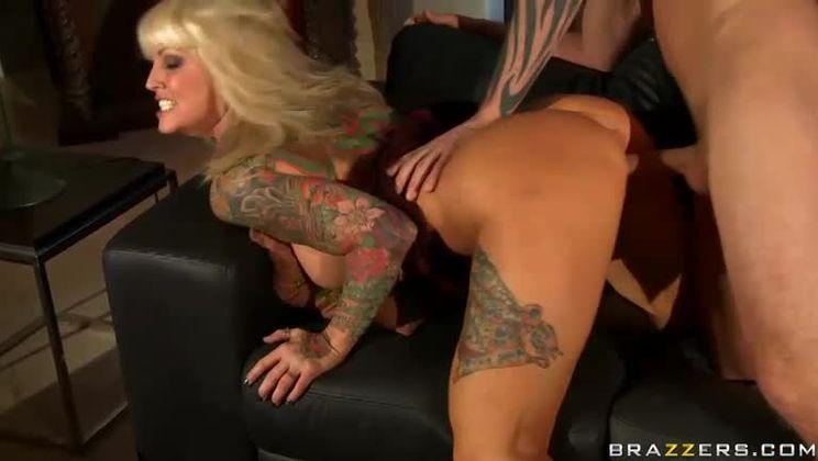 Janine lindemulder busty tattooed slut janine lindemulder