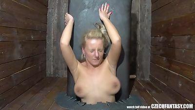 Jennifer white deepthroats gloryhole free porn