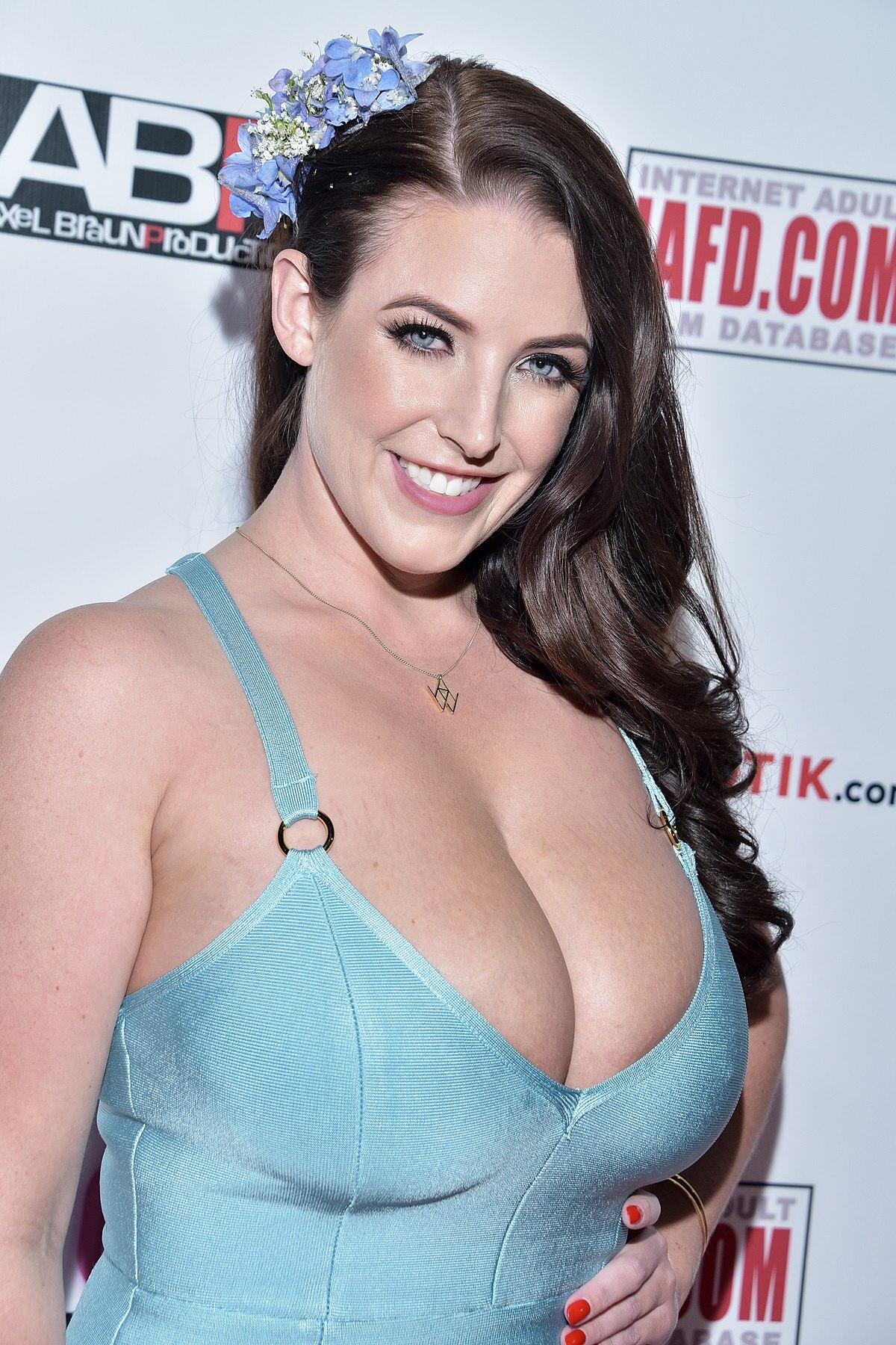 Official website of busty australian porn star angela white