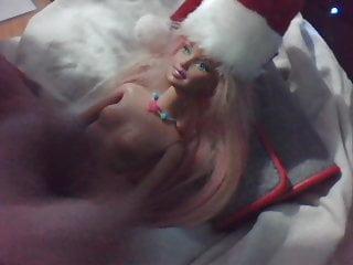 Barbie doll slow motion cum shot facial