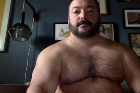 Vintage muscled gaybear pounding