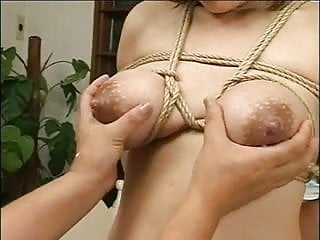 Lactation verry hard version bound tits byspyro