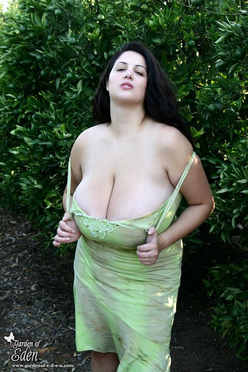 Girls with big tits running
