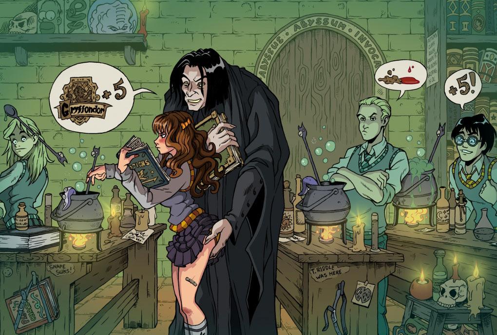 Harry potter comics porn