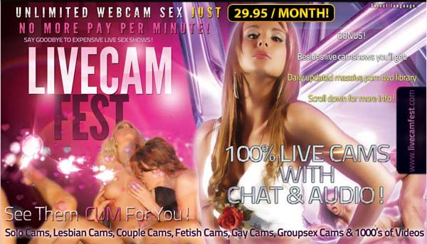 Monthly fee webcam sex