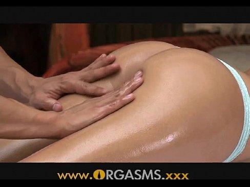 Orgasms sensual oil massage