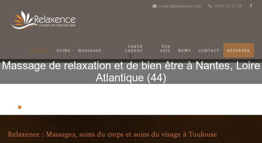 Salon massage naturiste nantes