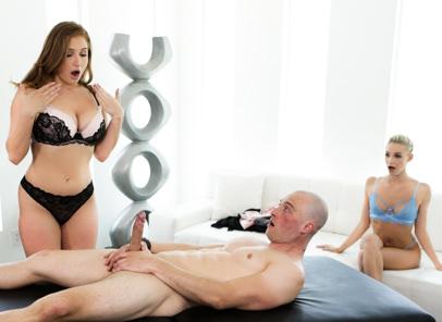 Teen watches her friend and boyfriend fuck free porn