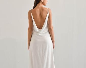 Satin wedding dress fetish pictures