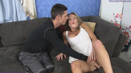 Son forces mom anal porn