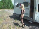 Hot young bikini girl