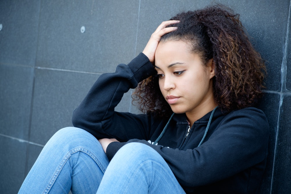 What causes teen age depression pussy teenager